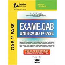 Exame Da Oab Unificado 1ª Fase , Ana Flávia Messa; , Ricardo