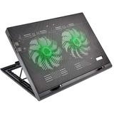Power Cooler Gamer Para Notebook Multilaser Com Led - Ac267
