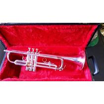 Trompete Yamaha Ytr 2320es Prata Made In Japan! Usado