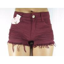 Short Jeans Feminino Estilo Anita Hot Pant