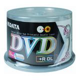 50 Dvd+r Dl Ridata Printable Dual Layer 8.5gb Ritek-s04-066