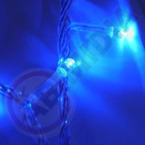 Pisca Pisca Led Azul Natal Natalino 100 Lampadas Luz Enfeite