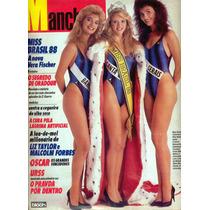 Manchete - 1988 - Miss Brasil / Vera Fischer / Dayse Nunes