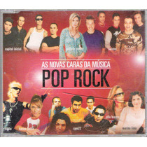 Cd As Novas Caras Da Música Pop Rock Cd Sem Contra Capa