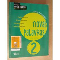 Portugues Novas Palavras Vol 2 Emilia Amaral Bom Estado
