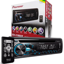 Cd / Mp3 Player Mixtrax Pioneer Deh-x1780ub C/ Entrada Usb