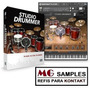 Samples Kontakt Studio Drummer Completo + 10gb Brindes