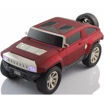 Jeep Caixa Caixinha Som Portátil Carro Mp3 Micro Sd Usb Fm