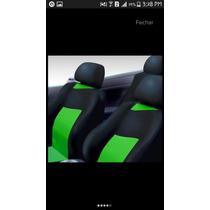 Capa Para Banco Carro! Kit Completo Volante Tapetes Pedaleir