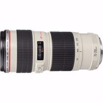 Lente Canon Ef 70-200mm F/4l Usm Nfe Oficial Canon Brasil