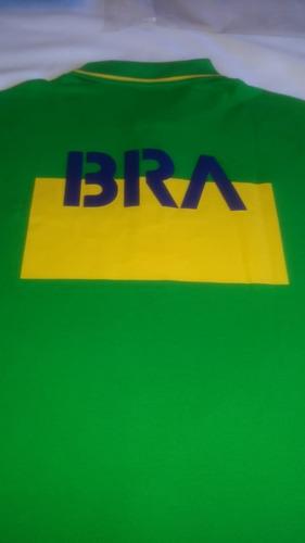 681c5703007 Camisa Masculina Polo Lacoste Sport Bandeira Do Brasil. Preço  R  239 99  Veja MercadoLibre