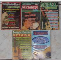 Músicas Cifradas Especial Sertanejo - 5 Revistas