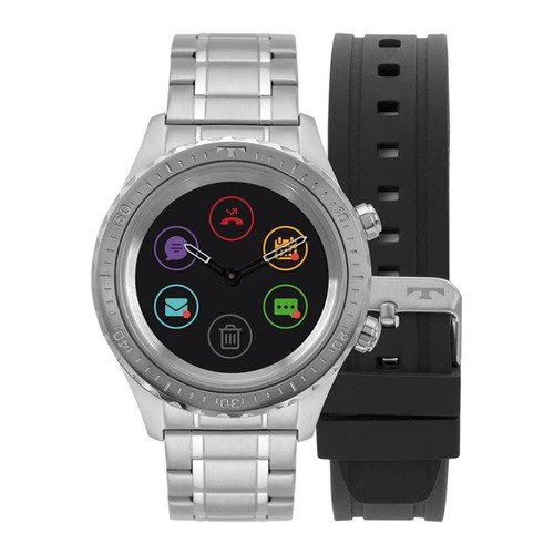 7c4b6f4a4bd Relógio De Pulso Technos Connect Smartwatch Masculino P01aa