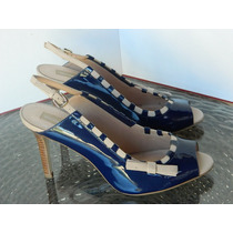 Shoestock Sapato Tam. 39 Salto 10cm - Scarpin Peep Toe
