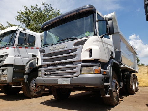 SCANIA P 360 6X4 ANO 2012/201 CAÇAMBA ROSSETTI