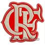 Bordado Escudo Crf Flamengo Mengão Patch Futebol Tma7