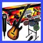 Guitar Hero World Tour Ps2 Bateria + Guitarra Rock Band Play