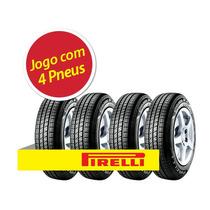 Kit 4 Pneu Aro 14 Pirelli 185/65r14 Cinturato P4 86t