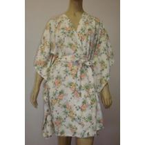 Kimono Quimono Japonês Robe Roupão Feminino Homewear