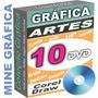 Gráfica Cartões De Visita Imã Panfleto Modelos Vetor 10 Dvds