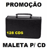 Porta Cd Dvd Bluey Corino Case P/ 128 Midias Maleta Cds