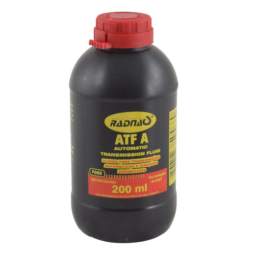 Fluido Para Direção Hidráulica Atf 200 Ml - Radnaq 7052 - 24