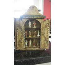 Oratório Capela Condominio Dos Santos Madeira Com Imagens