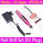Prego Elétrica Broca Máquina Manicure Nails Arquivo De Art
