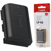 Bateria Original Canon Lp-e6 P Camera Eos 5d Mark Ii, 60d 7d