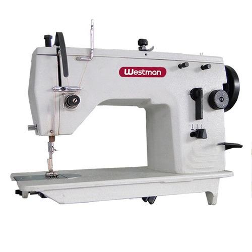 Máquina De Costura Zig Zag Semi Industrial Com Lubrificação