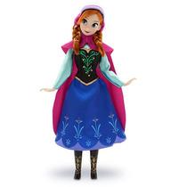 Princesa Anna Frozen Boneca Original Disney Store E U A
