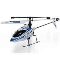 Mini Helicóptero Wltoys V911 4ch C Gyro Acompanha 7 Baterias