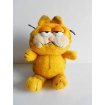 Garfield Pelúcia Da Estrela Década De 80