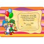 Convite Infantil Aniversário Patati Patata