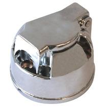 Tomada Engate Aluminio Femea 6 Ou 7 Polos