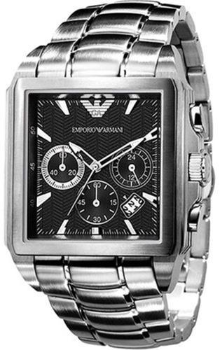 e2d80eac6fa Relógio Masculino Empório Armani Aço Original C nf Ar0659