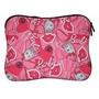 Case Capa Notebook Laptop Barbie Até 15 Polegadas Neoprene