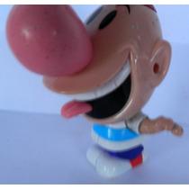 #203# Mc Donalds = Billy E Mandy Puro Osso Boneco Antigo