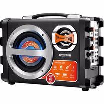 Caixa De Som Amplificadora Mondial Usb/sd 40w Rms Bivolt