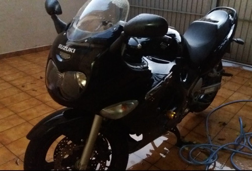 MOTO SUZUKI GSX750F MOTO DE GARAGE SUPER NOVA UNICO DONO