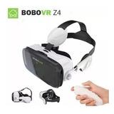 Óculos Virtual Bobo Vr Z4 C/ Fone E Controle Top - Promoção