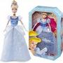 Boneca Cinderela Princesas Clássicas - Disney Mattel Bdj27