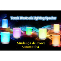Caixa De Som Viva Voz Touch Bluetooth Led