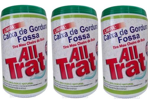 All Trat 1,5 Kg Limpa Fossa Caixa De Gordura Mau Cheiro
