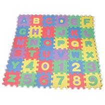 Tapete Infantil Educativo Eva Alfabeto E Números A-z E 0-9