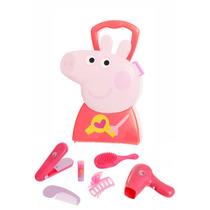 Peppa Pig Maleta Cabeleleira Brinquedo Crianças Mais 03 Anos