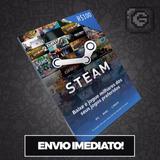 Steam Cartão Pré-pago R$100 Reais (r$50+r$50) Card