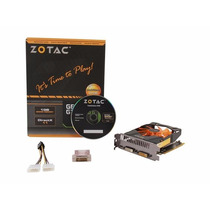 Placa De Vídeo Geforce Zotac Gtx 650ti 1gb Ddr5 Pci-e 3.0