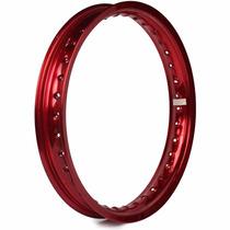 Aro Moto Alumínio 17 X 2.15 Nxr Bros Ks Es Vermelho Vitral