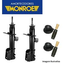 Par Amortecedor Original Moonroe + Kit - Fiat Bravo 2010..